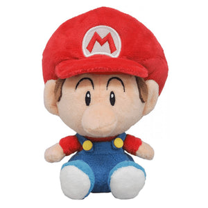 Little Buddy Super Mario All Star Collection Baby Mario Plush, 6""