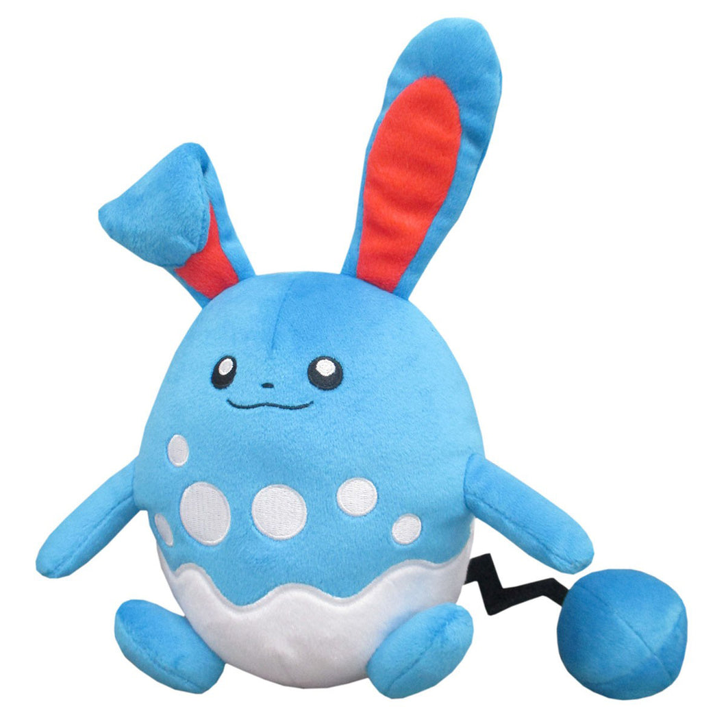 Sanei Pokemon All Star Collection PP100 Azumarill Plush, 7.5