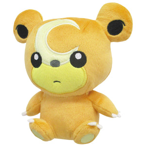 Sanei Pokemon All Star Collection PP101 Teddiursa Plush, 6""