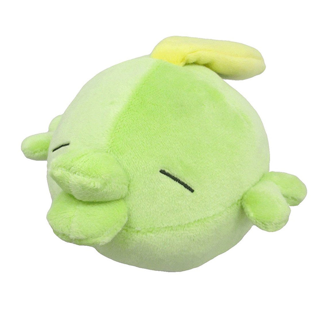 Sanei Pokemon All Star Collection PP102 Gulpin Plush, 3.5