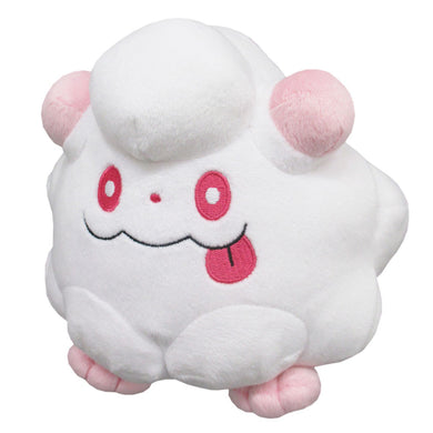Sanei Pokemon All Star Collection PP105 Swirlix Plush, 5