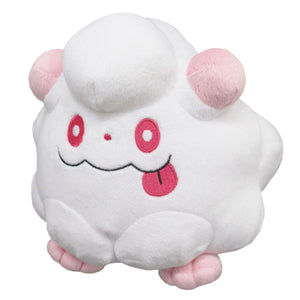 Sanei Pokemon All Star Collection PP105 Swirlix Plush, 5""