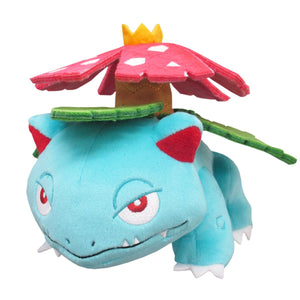 Sanei Pokemon All Star Collection PP94 Venusaur Plush, 5.5""