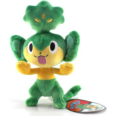 Pokemon Center Black and White Pokedoll Yanappu / Pansage Plush, 7