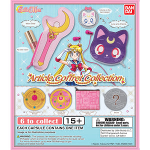 Sailor Moon Article Coffret Collection Zipper Pouch Gashapon (Bag of 50 Capsules)