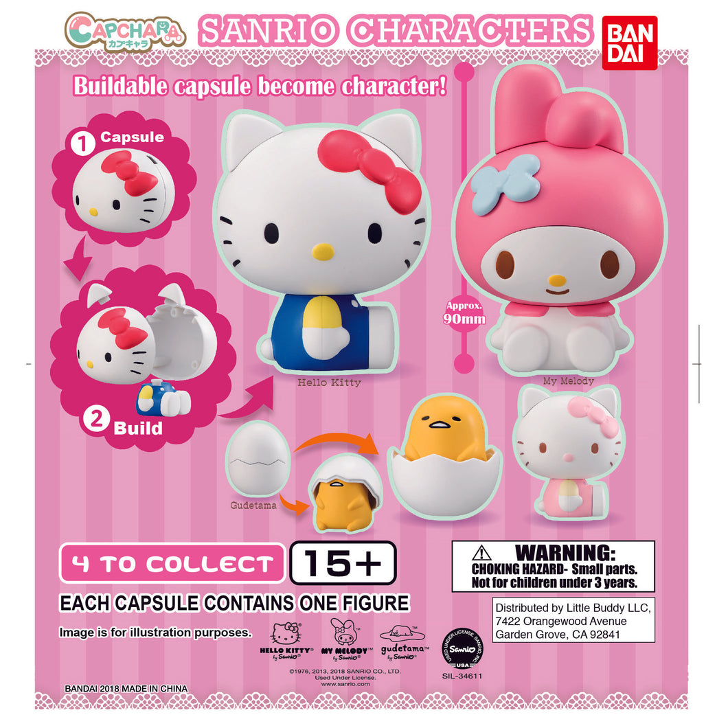 Sanrio Cap-Chara Series 1 Figure Gashapon (Bag of 50 Capsules)