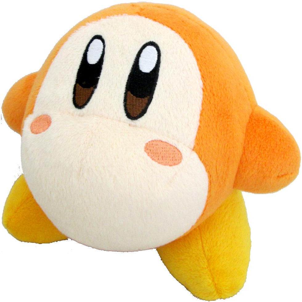Little Buddy Kirby's Adventure All Star Collection Waddle Dee Plush, 5