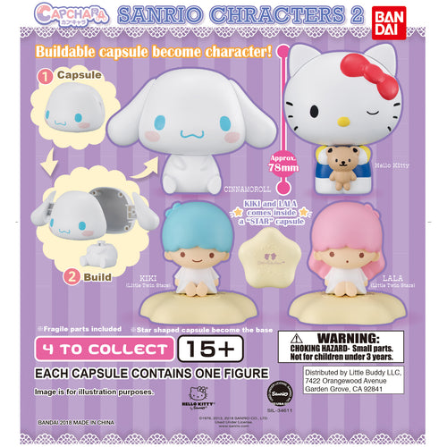 Sanrio Cap-Chara Series 2 Figure Gashapon (Bag of 50 Capsules)