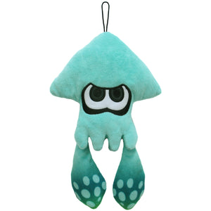 Little Buddy Splatoon Turquoise Inkling Squid Plush, 9""