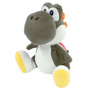 Little Buddy Super Mario All Star Collection Black Yoshi Plush, 7""