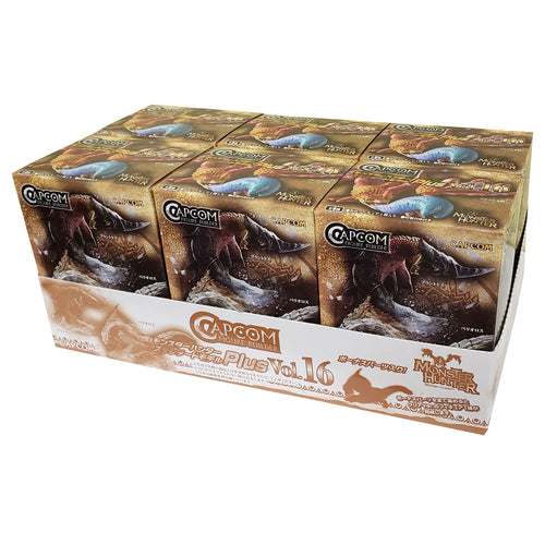 Capcom Monster Hunter Plus Vol. 16 Blind Box Figures (Random Box Set of 6)