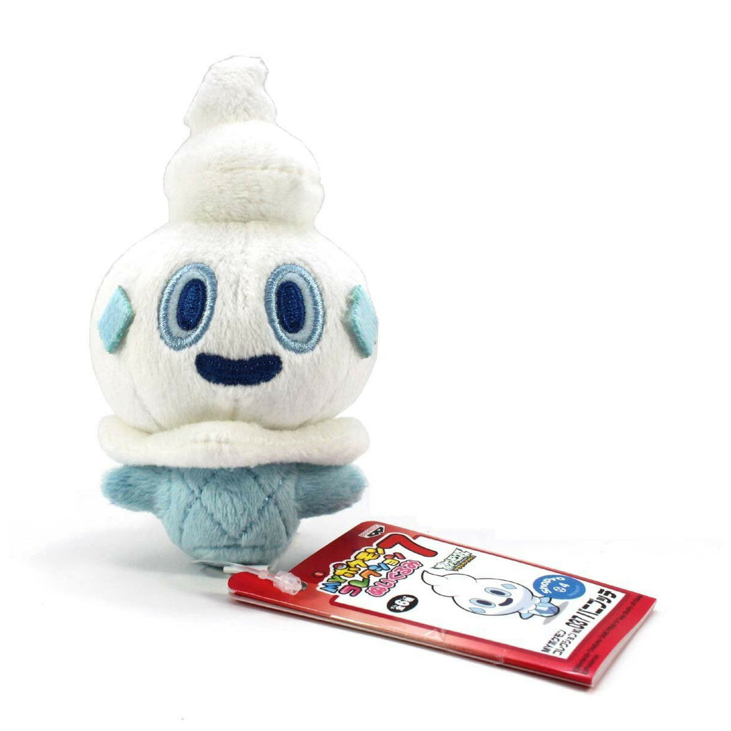 Banpresto My Pokemon Collection Assorted Mini Plush Ball Chain - 47479 - Vanillite / Vanipeti