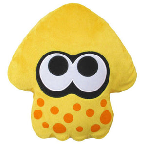 Little Buddy Splatoon 2 Series Sun Yellow Squid Cushion Plush, 14""