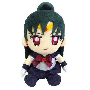 Bandai Sailor Moon Mini Sailor Pluto Plush, 7""