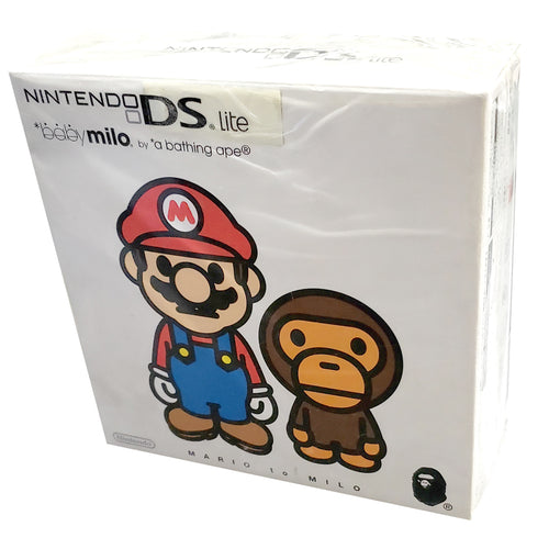 Baby Milo by a bathing ape x Super Mario Nintendo DS Lite Limited Edition System