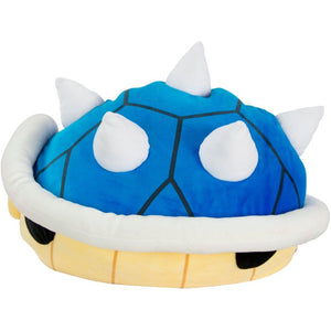 TOMY Club Mocchi-Mocchi Nintendo Blue Spiny Shell Large Cushion Plush T12956A1