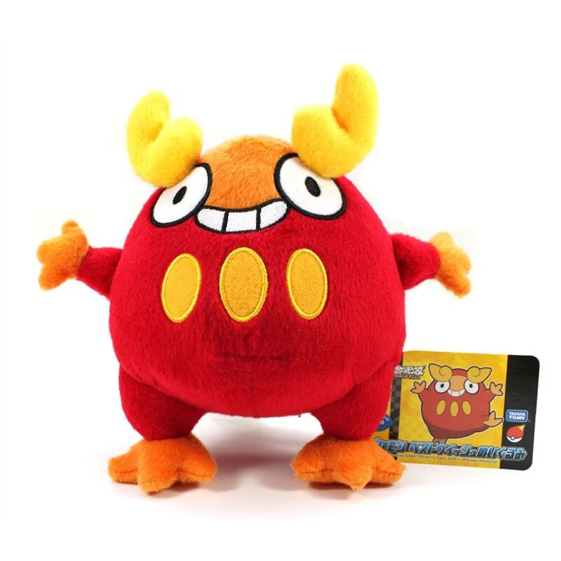 Takaratomy Pokemon Best Wishes Darumakka N-24 Plush, 7