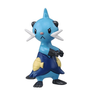 Takaratomy Pokemon M-017 Futachimaru / Dewott Mini Figure, 2