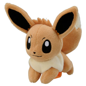 Takaratomy Pokemon Katanori Shoulder Clip-on Eevee Plush, 4""
