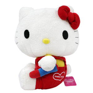 Sega Drawing Hello Kitty w/ Crayon Jumbo Plush, 13""