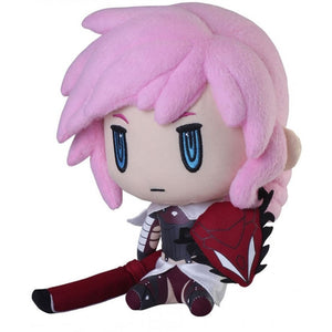 Square Enix Final Fantasy XIII Claire Farron Lightning Plush, 9""