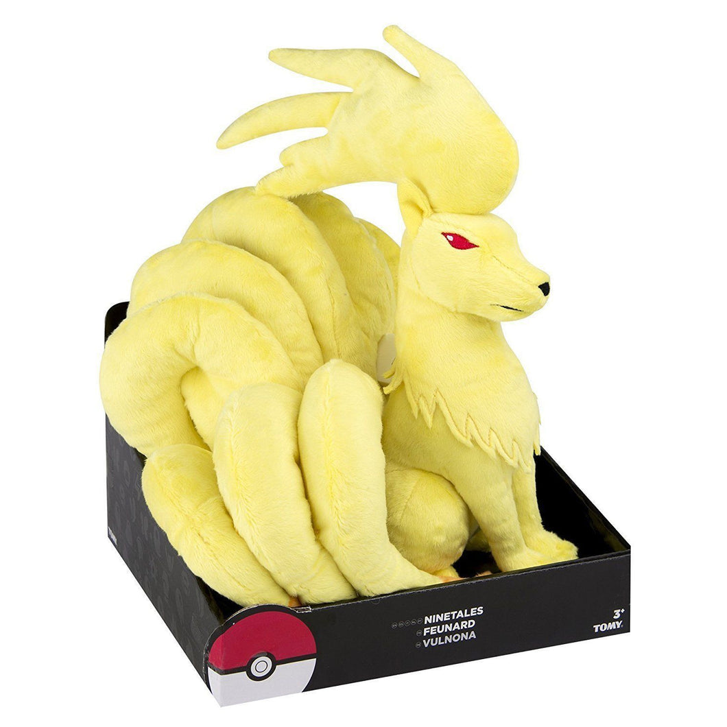 TOMY T19350 Pokemon Large Jumbo Ninetales Plush