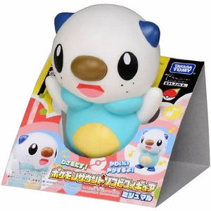 Takaratomy Pokemon Sound/Talking Soft Vinyl Oshawott Figure
