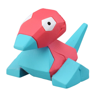 Takaratomy Pokemon EX EMC-08 Porygon Figure, 1.25""