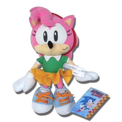 Great Eastern GE-7053 Sonic The Hedgehog: Classic Amy Plush, 6