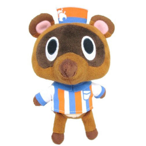 Sanei Animal Crossing Timmy Convenience Store Clerk Plush, 5.5