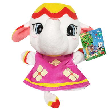 Max Co. Animal Crossing Sally / Margie Elephant Hand Puppet Plush, 9