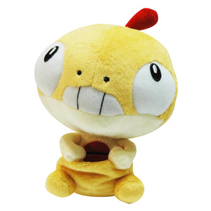 Pokemon Center Black and White Pokedoll Petite Zuruggu / Scraggy Plush