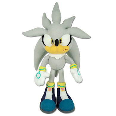 Great Eastern GE-8960 Sonic The Hedgehog: Silver Sonic Plush, 13