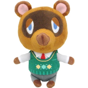 Little Buddy Animal Crossing Tom Nook Plush, 8""