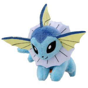 Takaratomy Pokemon Katanori Shoulder Clip-on Vaporeon Plush, 4""