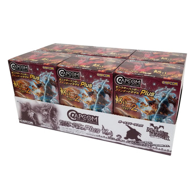 Capcom Monster Hunter Plus Anger Ver. 2 Blind Box Figures (Random Box Set of 6)