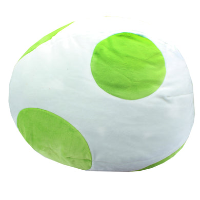 TOMY Club Mocchi-Mocchi Nintendo Yoshi Egg Large Cushion Plush T12968