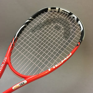Head Squash racket with Ashaway Supernick XL string