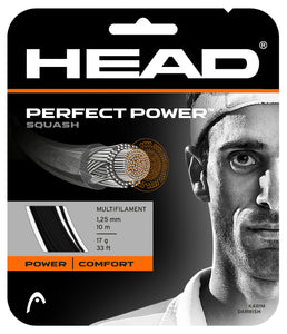 Head Perfect Power 16 (1.30mm) - Squash restring