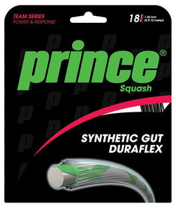 Prince Synthetic Gut Duraflex 17 (1.25mm) - Squash restring