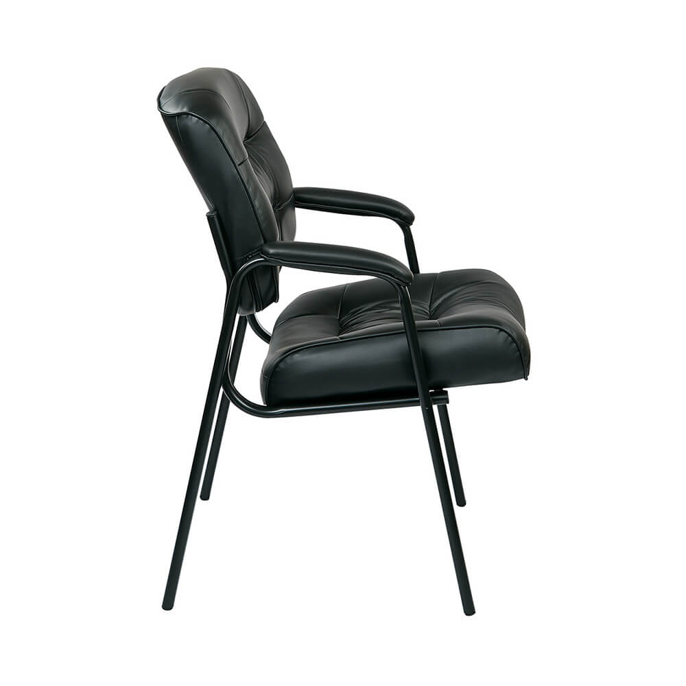 Bonded Leather Visitors Chair