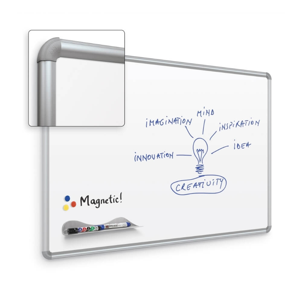 Magne-Rite Whiteboard With Presidential Trim
