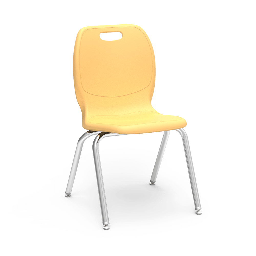 N2 Series 4-Leg Stack Chair, 12