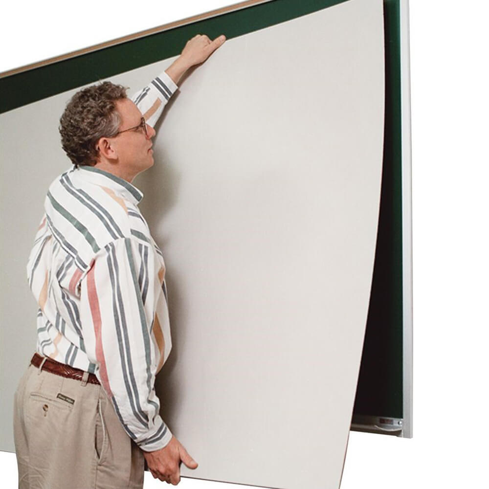 Porcelain Steel Self-Adhesive Whiteboard Skins