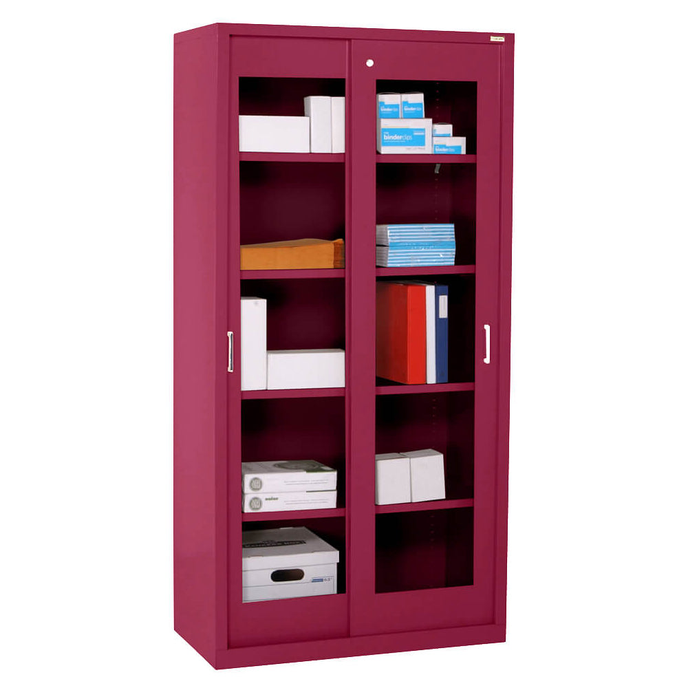 Sliding Door Clearview Storage Cabinet