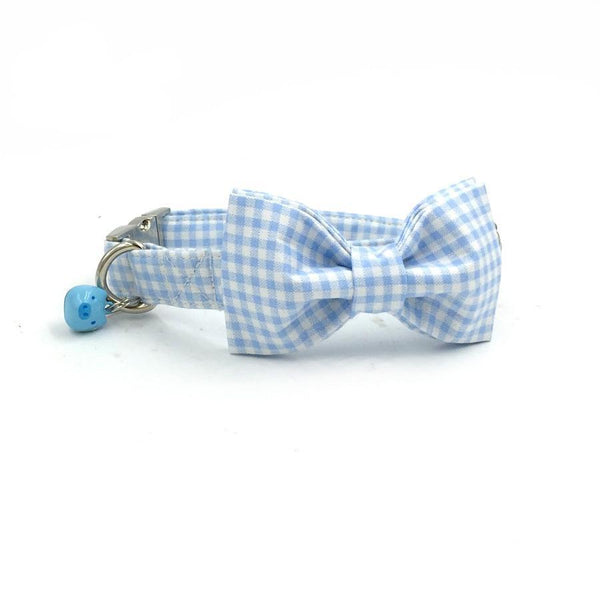 Blue Bow Tie and Colloar