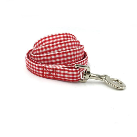 Red Striped Leash