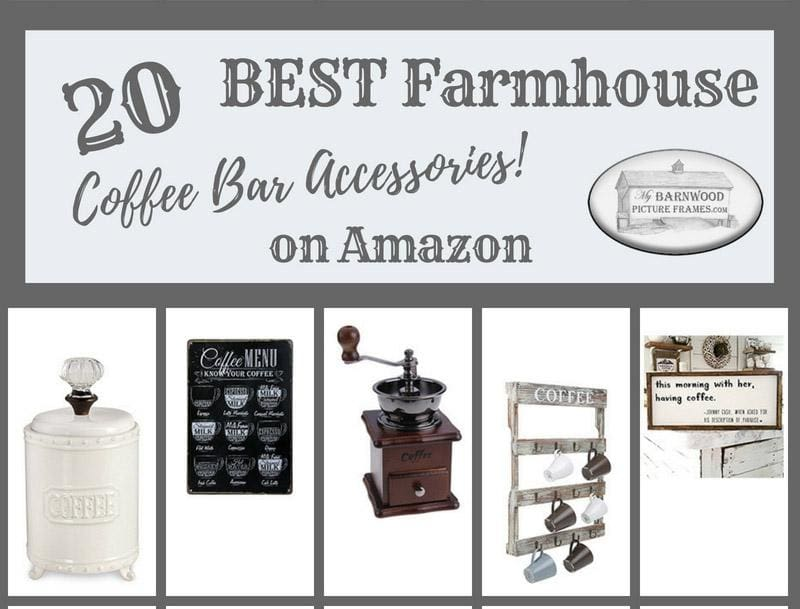 20 Best Farmhouse Coffee Bar Accessories From Amazon