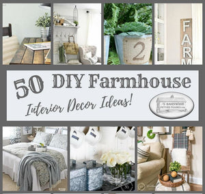 50 Best DIY Rustic Farmhouse Decor Ideas For Your Home