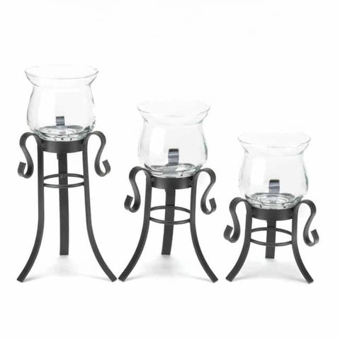 Allure Candle Stand Trio Lighting